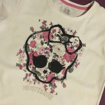 Blusinha da monster high - 12 anos - Monster High