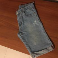 Bermuda jeans. - 14 anos - Via Onix