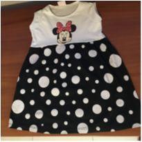 Vestido da Minie . - 4 anos - Disney