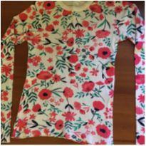 Camiseta M/L florida. Linda - 10 anos - Hering Kids
