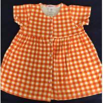 Vestido xadrez - 9 a 12 meses - Zutano