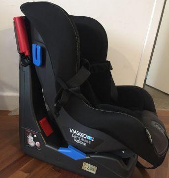 Cadeira para carro peg perego viaggio 0+ 1 switchable - Sem faixa etaria - Peg Pérego