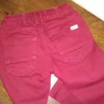 Calça de Sarja vermelha - 3 anos - Baby Club