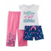Pijama Carter`s 24 meses novo - 2 anos - Carter`s