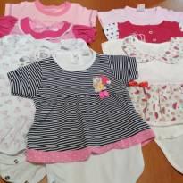 LOTE 7 BODYS LINDOS PARA PRINCESA! ❤️ - 3 a 6 meses - Variadas