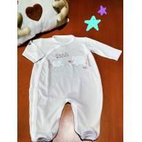MACACÃO BEGE EM MALHA! APROVEITE O DESCONTO! ❤ - 3 a 6 meses - Tilly Baby
