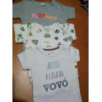 LEVE 3 PAGUE 1! LOTE BODYS MENINO! ❤️ - 6 a 9 meses - Teddy Boom