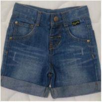 Bermuda jeans Tigor Baby - 12 a 18 meses - Tigor Baby