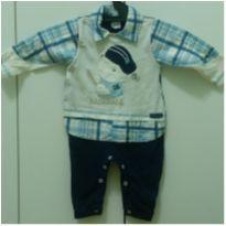 Macacão de bebê - 3 a 6 meses - Baby Doces Momentos