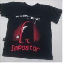 Camiseta do Impostor - 6 anos - Loja Kd