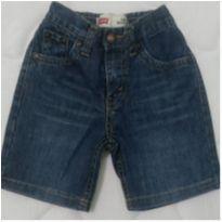 Bermuda jeans Levis - 2 anos - Levi`s