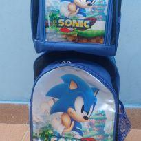 Mochila e lancheira do Sonic -  - Crush