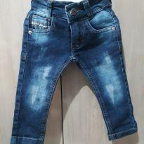 Calça Jeans - Planet Jeans - 6 a 9 meses - Não informada