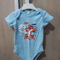 Body Manga Curta - Disney Tigrão - 6 a 9 meses - Disney baby