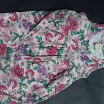 Vestido floral rosa - 2 anos - Brandili