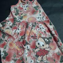 012. Vestido Floral Mônica Baby - 3 anos - TURMA DA MONICA