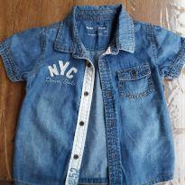 Camisa Jeans - 1 ano - Baby Club