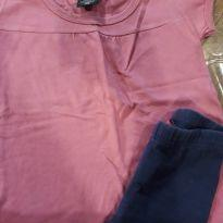 Conjunto rosa e azul - 2 anos - Hering Kids