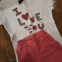 Conjunto I Love you - 2 anos - Basic+ Kids