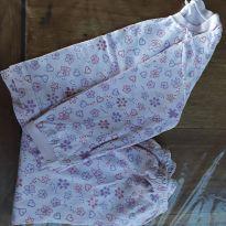 Pijama floral meia estação - 12 a 18 meses - Sem marca