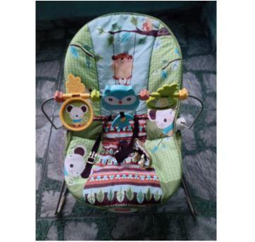 Cadeira d descanso Amigos da Floresta▼・ᴥ・▼ - Sem faixa etaria - Fisher Price