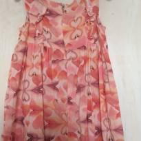 Vestido Flamingos TAM G - 9 a 12 meses - Brandili