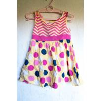 Vestido Mineral Coloridinho Tam 1 - 1 ano - Mineral Kids