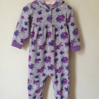 Macacão Fleece Floral Child of Mine by Carters  18m - 18 meses - Carter`s e Child of Mine