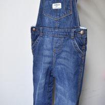 Macacão Jeans OshKosh Forrado - 2 anos - OshKosh