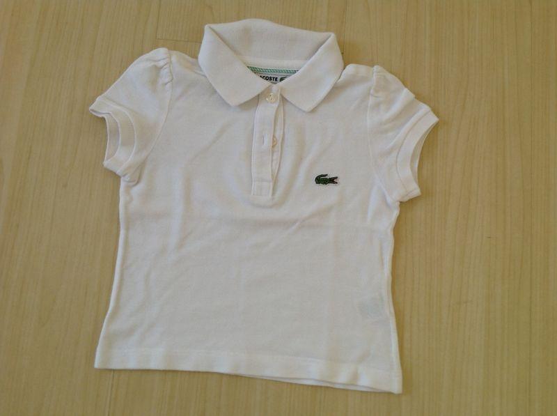 224c8fbb3a2 Camisa polo feminina lacoste 2 anos no Ficou Pequeno - Desapegos de ...