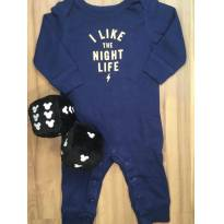 Macacão Carters I Like the Night Life - 6 meses - Carter`s