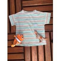 Camiseta listrada - 3 anos - Anacaloca