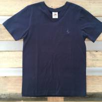 Camiseta azul marinho - 6 anos - Lazy