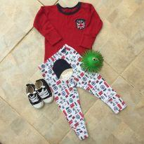 Conjunto Londres - 3 a 6 meses - Grow up