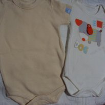 kit body Bicho Molhado - 0 a 3 meses - Bicho Molhado