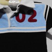Camisa Polo - 6 a 9 meses - Empório Baby & Kids