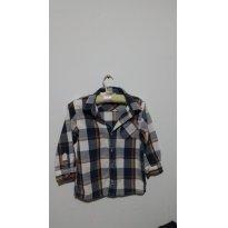 Camisa Flanela Hering - 3 anos - Hering Baby