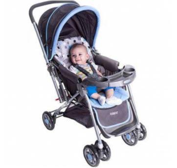 carrinho de bebê cosco travel system com bebê conforto - Sem faixa etaria - Cosco