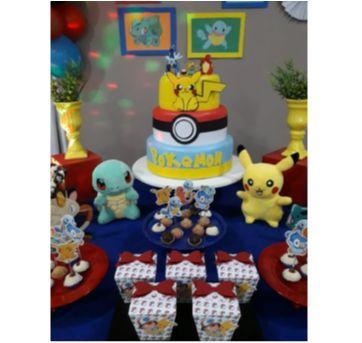bolo fake pokemon - Sem faixa etaria - Artesanal