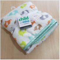 Manta cobertor para bebê elefante carter`s -  - Carter`s