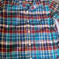 Camisa xadrez Gap - 8 anos - GAP