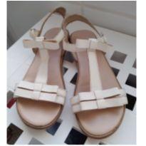 Sandália em couro Zara - 35 - Zara