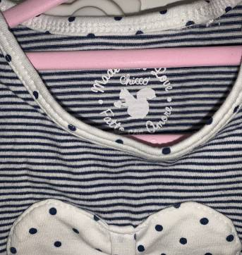 Camisetinha Chicco - 3 a 6 meses - Chicco