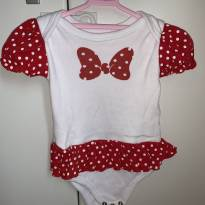 Body Minnie - 6 a 9 meses - ZigMundi