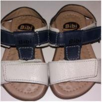 Sandália branca e azul - 19 - Bibi