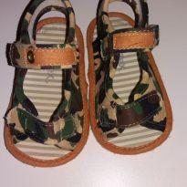 Sandália camuflada - 17 - Tex