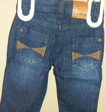 Calça jeans - 0 a 3 meses - Clube do Doce