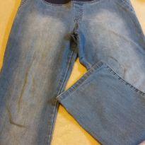 Calça jeans clara - M - 40 - 42 - Não informada