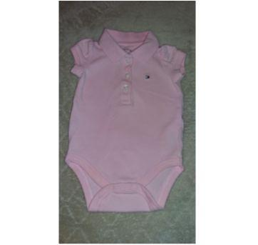 Body Tommy Rosa claro - 3 a 6 meses - Tommy Hilfiger