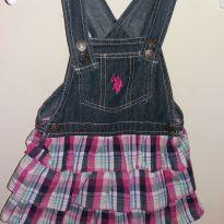Vestido Jeans - 2 anos - US Polo Assn